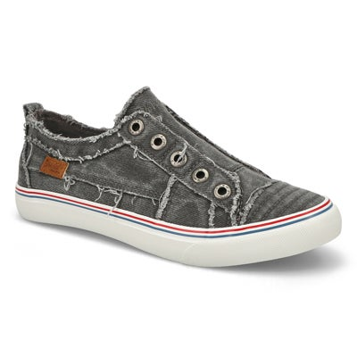 Lds Play grey hipster fashion sneakers