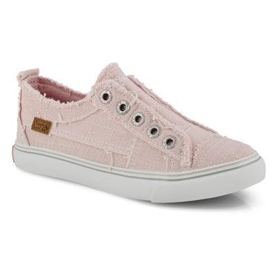 Grls Play pink lemonade fashion sneaker