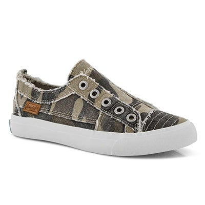 Lds Play natural camo fashion sneakers