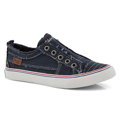 Lds Play navy fashion sneakers
