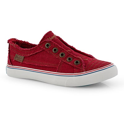 Lds Play red fashion sneakers