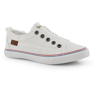 Lds Play white  fashion sneakers