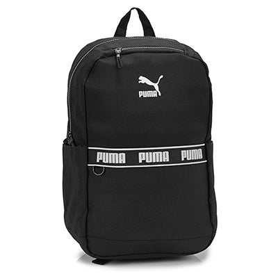 Unisex Linear black backpack