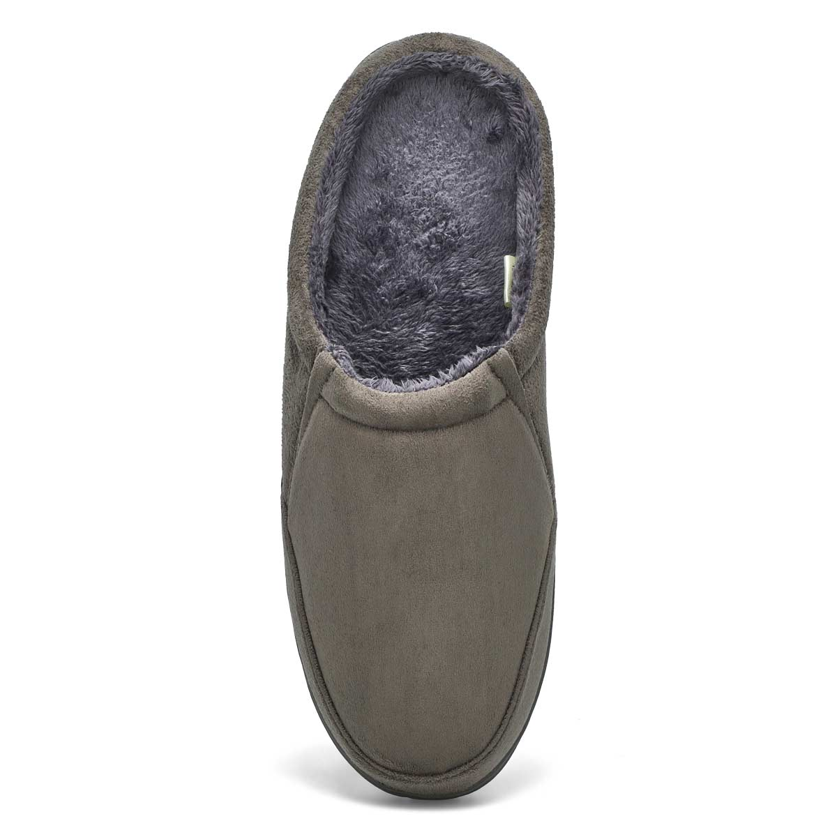 Mns Polar II charcoal open back slipper
