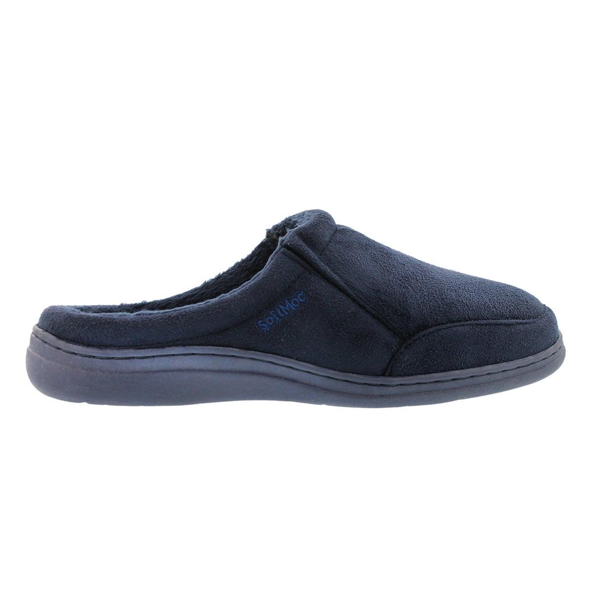 Mns Polar II navy open back slipper