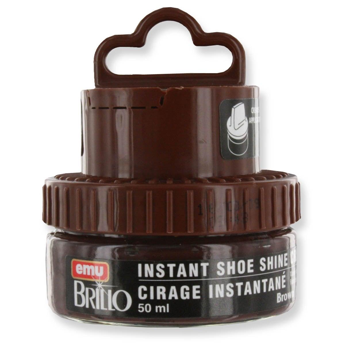 Shoe Care SHOE/BOOT POLISH - medium brown
