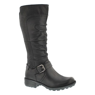 Lds Poppy black riding boot