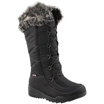 Kamik Women's PORTO black waterproof winter boots