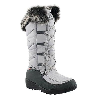 Kamik Women's PORTO grey waterproof winter boots