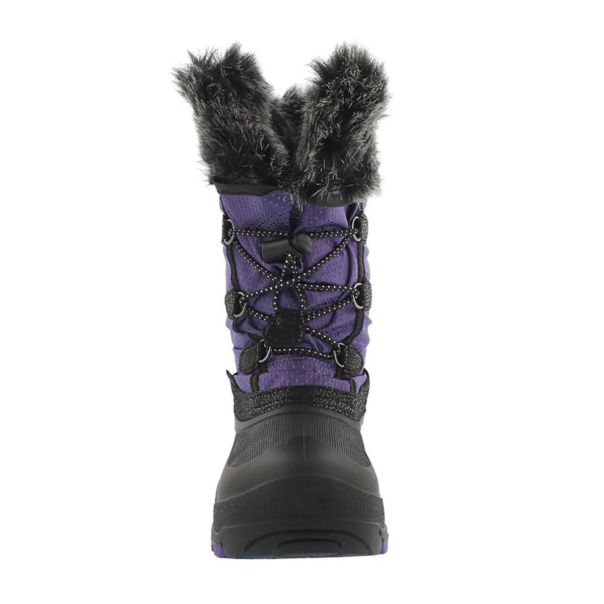 Grls Powdery purple wtpf winter boot