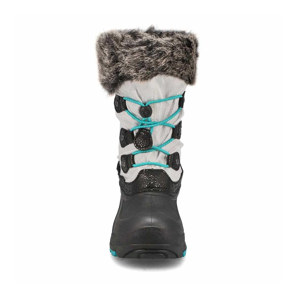 Grls Powdery2 white wtpf winter boot