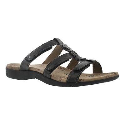 Taos Women's PRIZE 2 black casual sandals