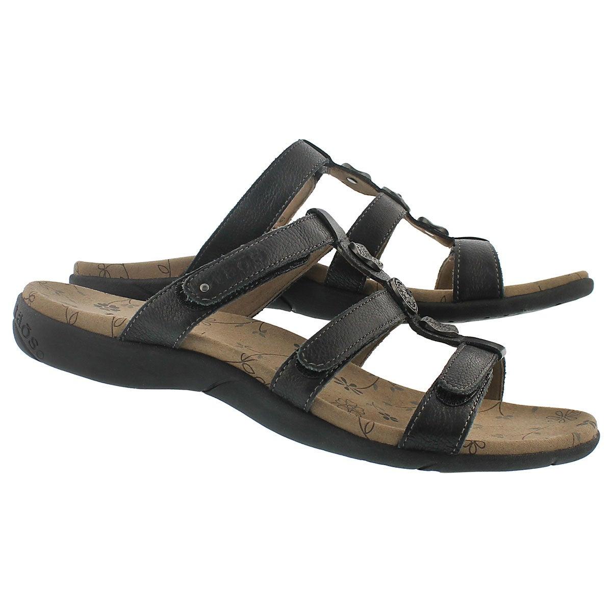 Lds Prize 2 black casual sandal