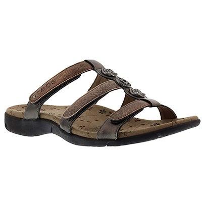 Taos Women's PRIZE 2 metallic multi casual sandals