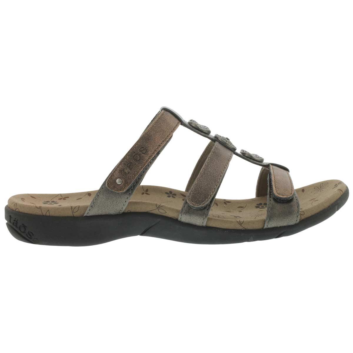 Lds Prize 2 metallic multi casual sandal