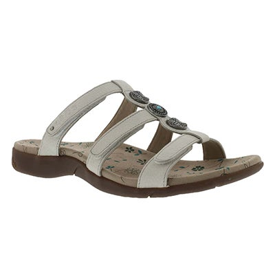 Taos Women's PRIZE 2 white casual sandals