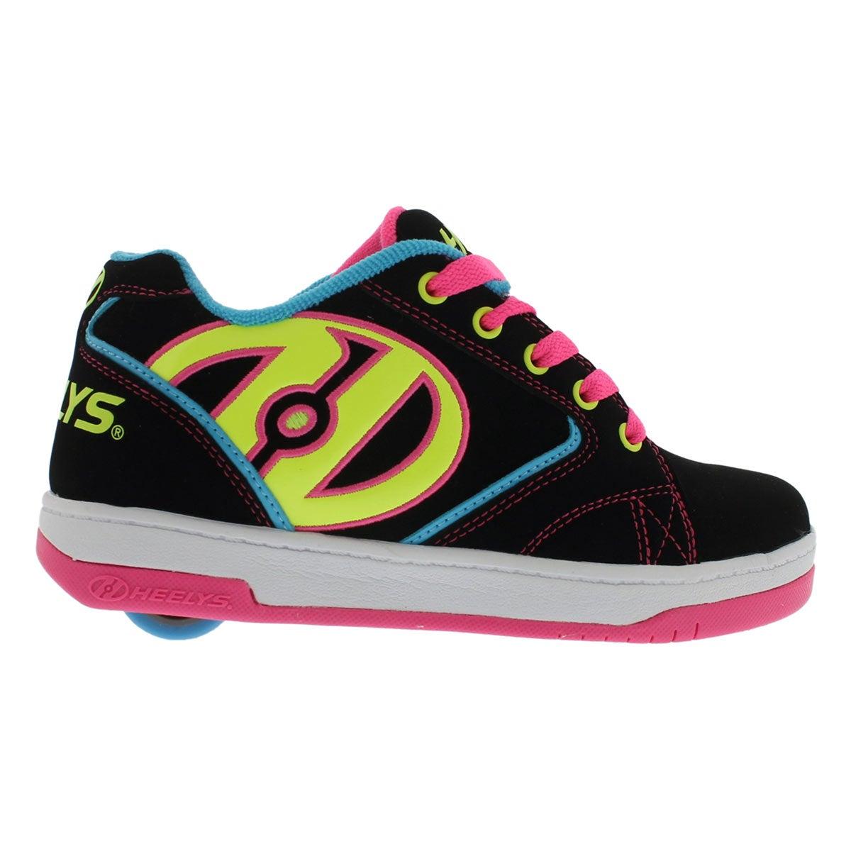 Grls Propel blk/multi skate sneaker