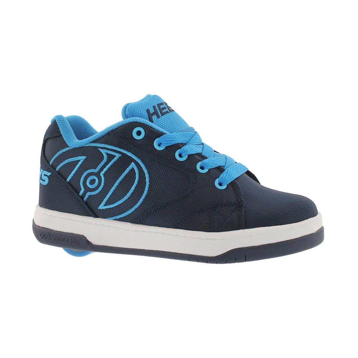 Boys' PROPEL 2.0 navy/blue skate sneakers