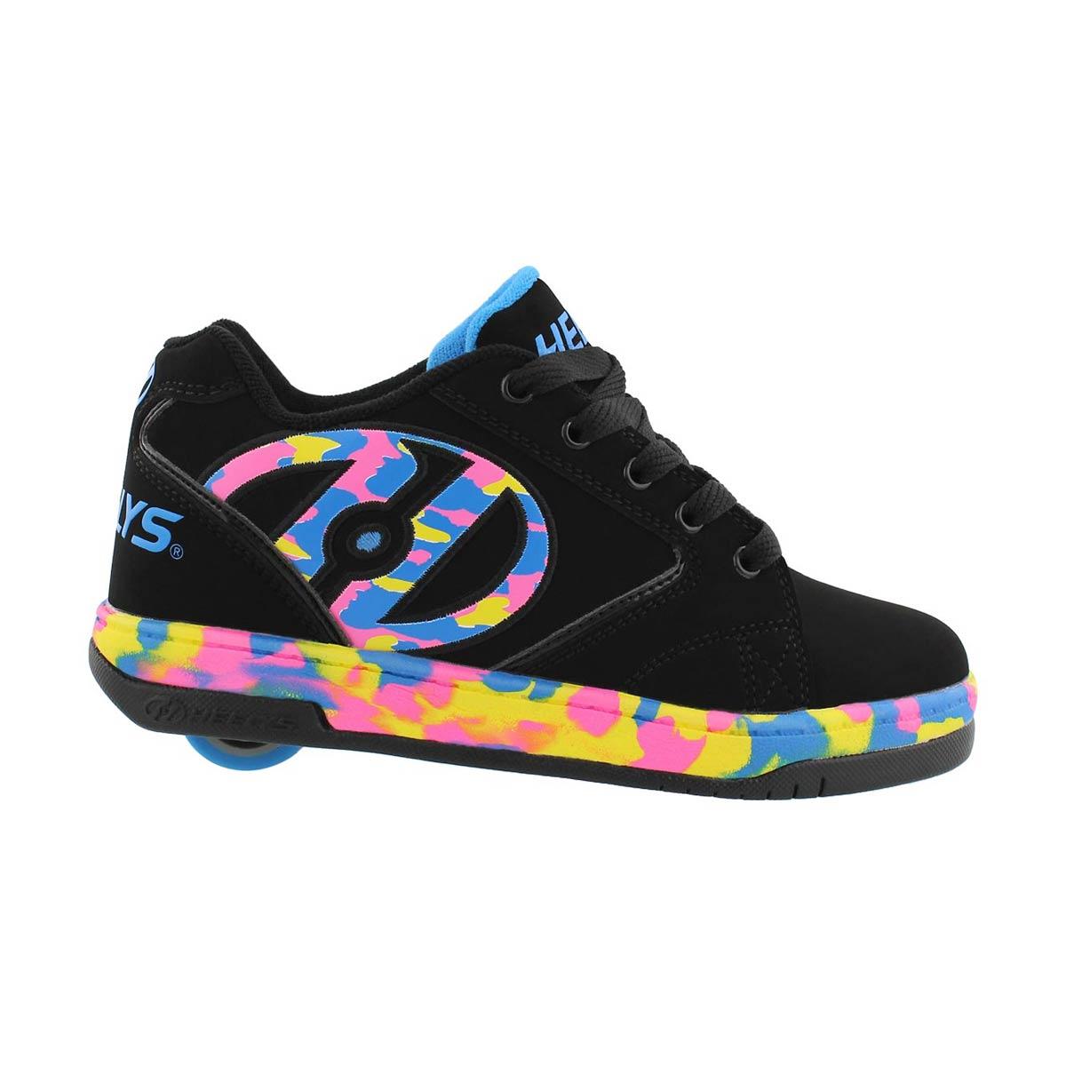 Grls Propel 2.0 blk/multi skate sneaker