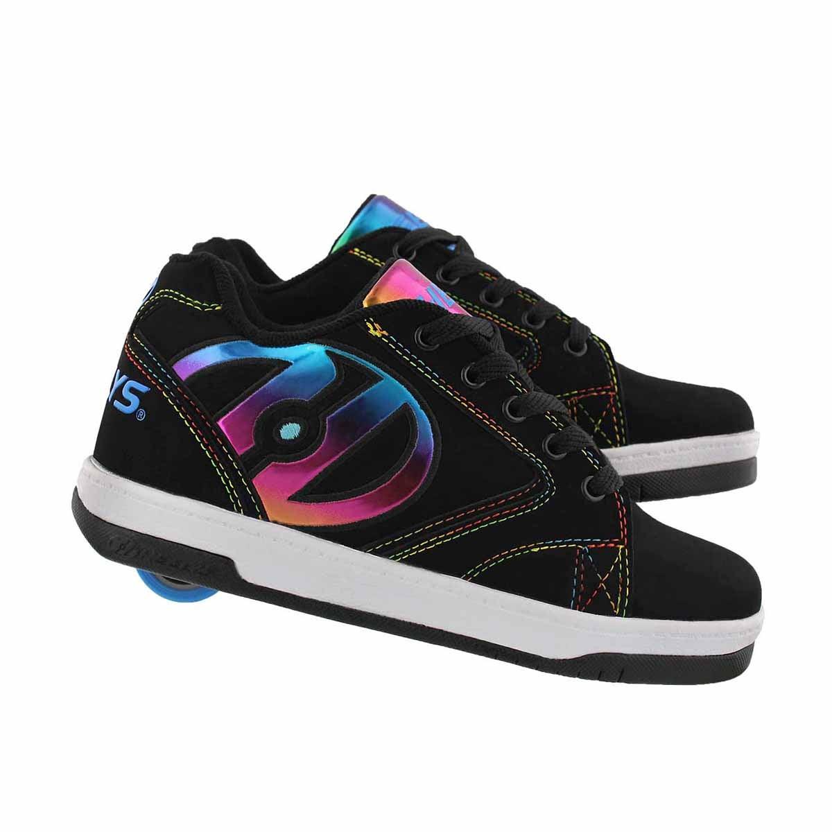 Grls Propel 2.0 bk/rainbow skate sneaker