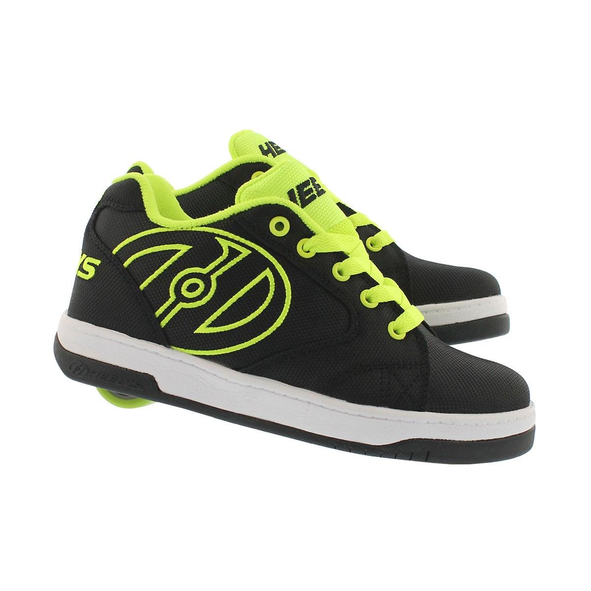 Bys Propel 2.0 blk/yellow skate sneaker