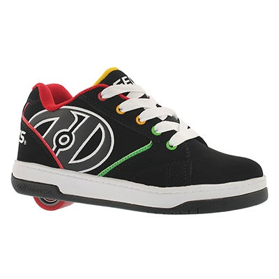 Heelys Boys' PROPEL 2.0 black/multi skate sneakers