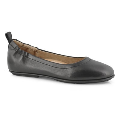 Lds Allegro black slip on ballerina