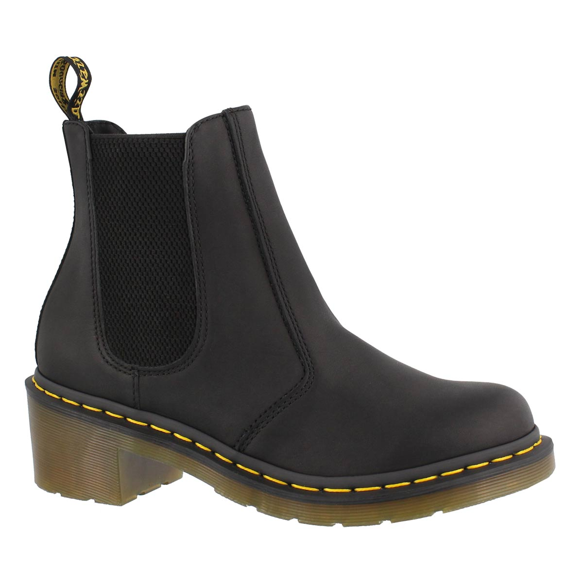 Women's CADENCE black chelsea boots