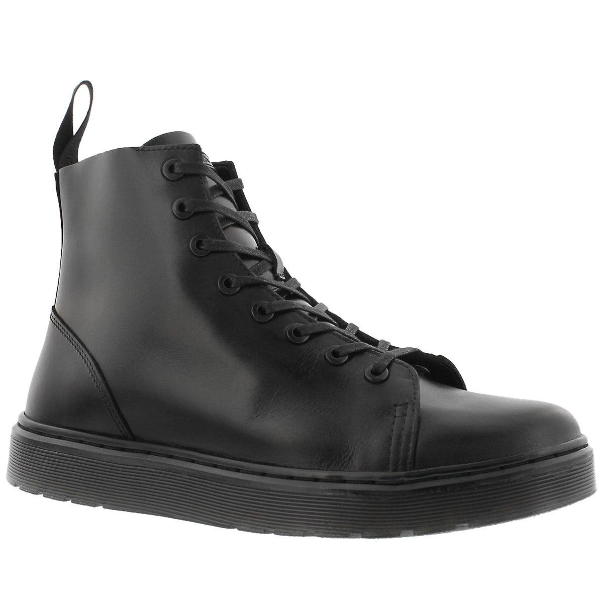 Men's TALIB black 8 eye combat boots