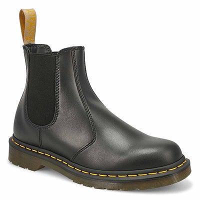 Lds 2976 Vegan black chelsea boot