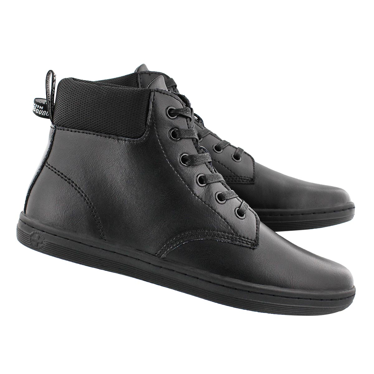 Lds Maelly 6 eye black ankle boot