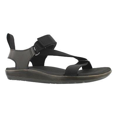 Lds Balfour Z Strap black casual sandal