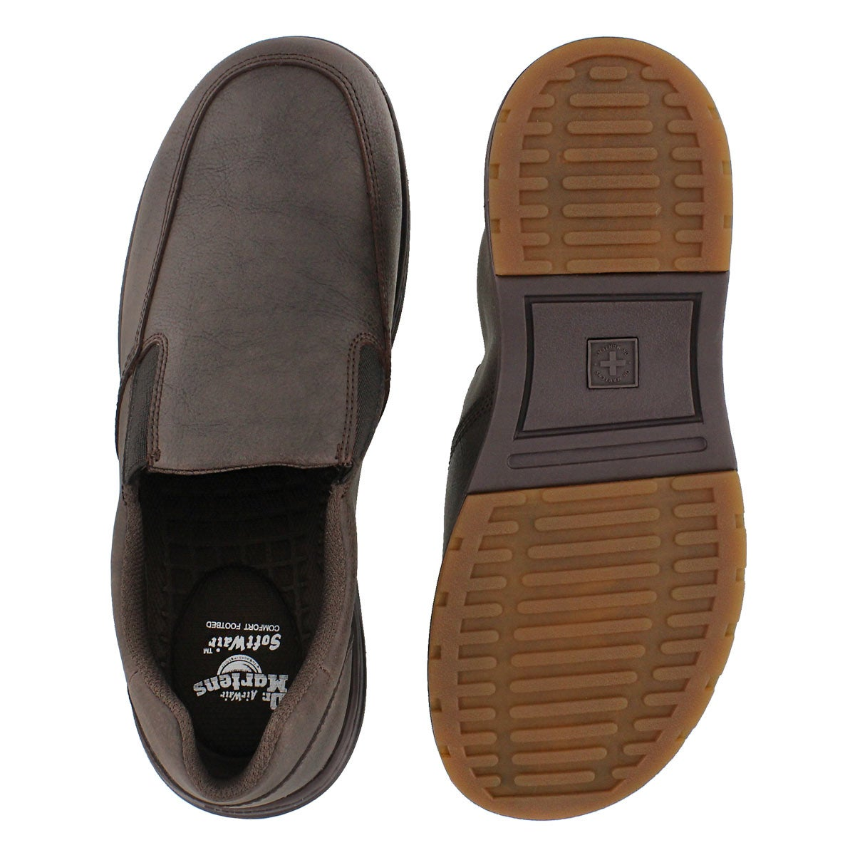 Mns Brennan brown slip on casual shoe