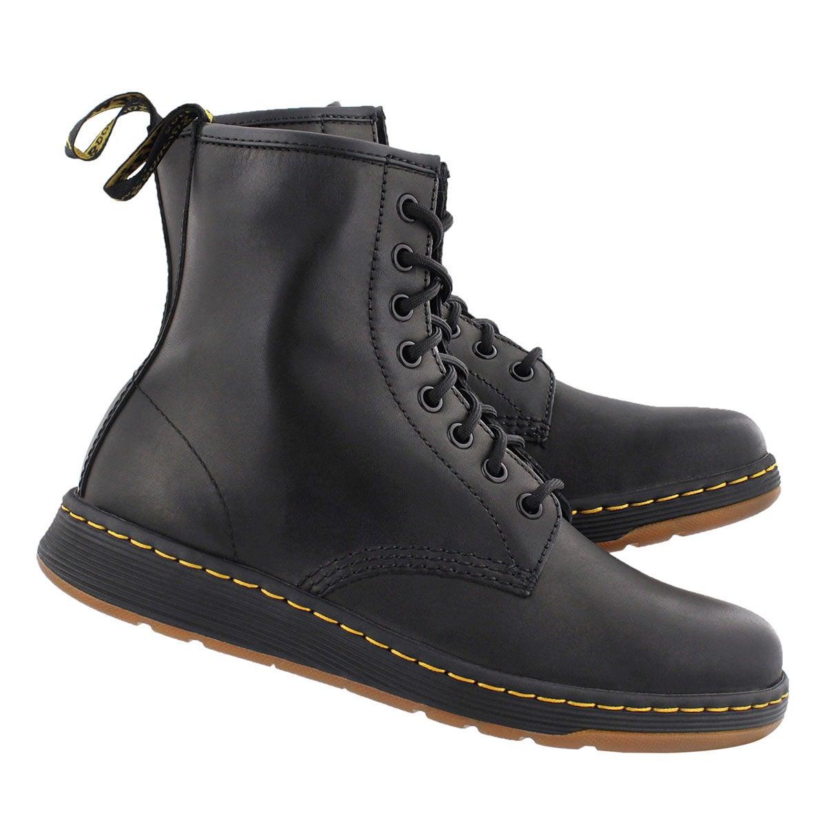 Mns Lite Newton blk 8 eye combat boot