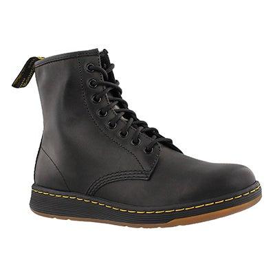 Lds Newton black 8 eye combat boot