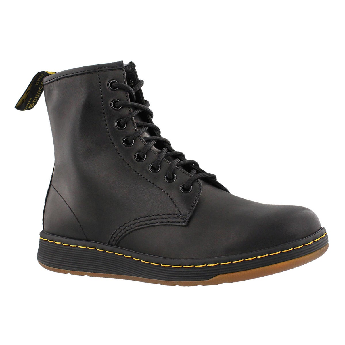 Women's DM Lite NEWTON black 8-eye combat boots