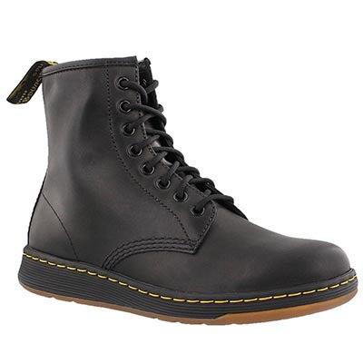 Dr Martens Men's DM Lite NEWTON black 8 eye combat boots