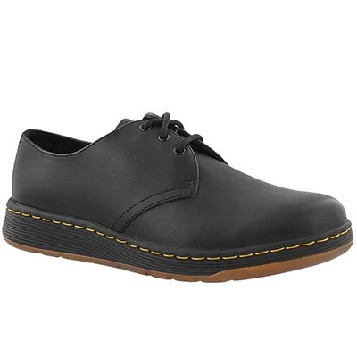 Mns Cavendish black 3 eye casual oxford