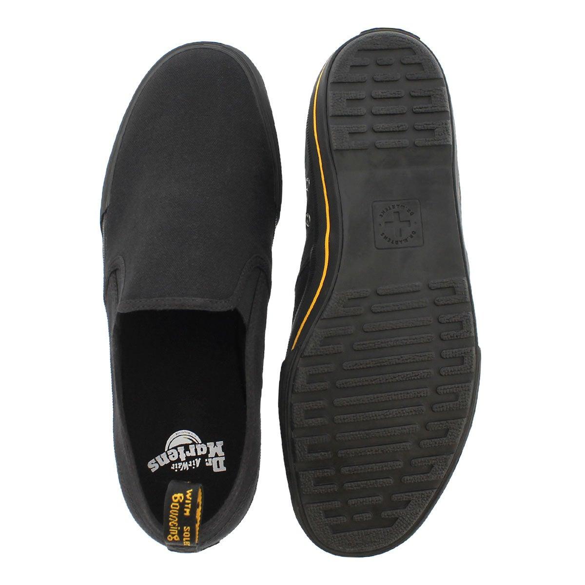 Mns Toomey black slip on shoe