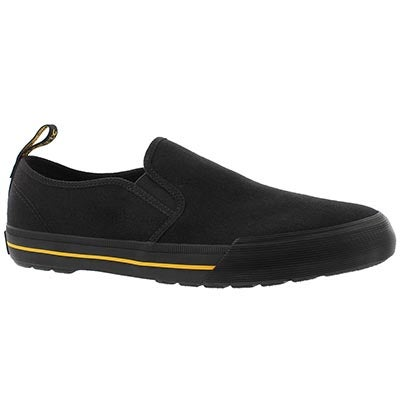Mns Toomey black slip on shoe