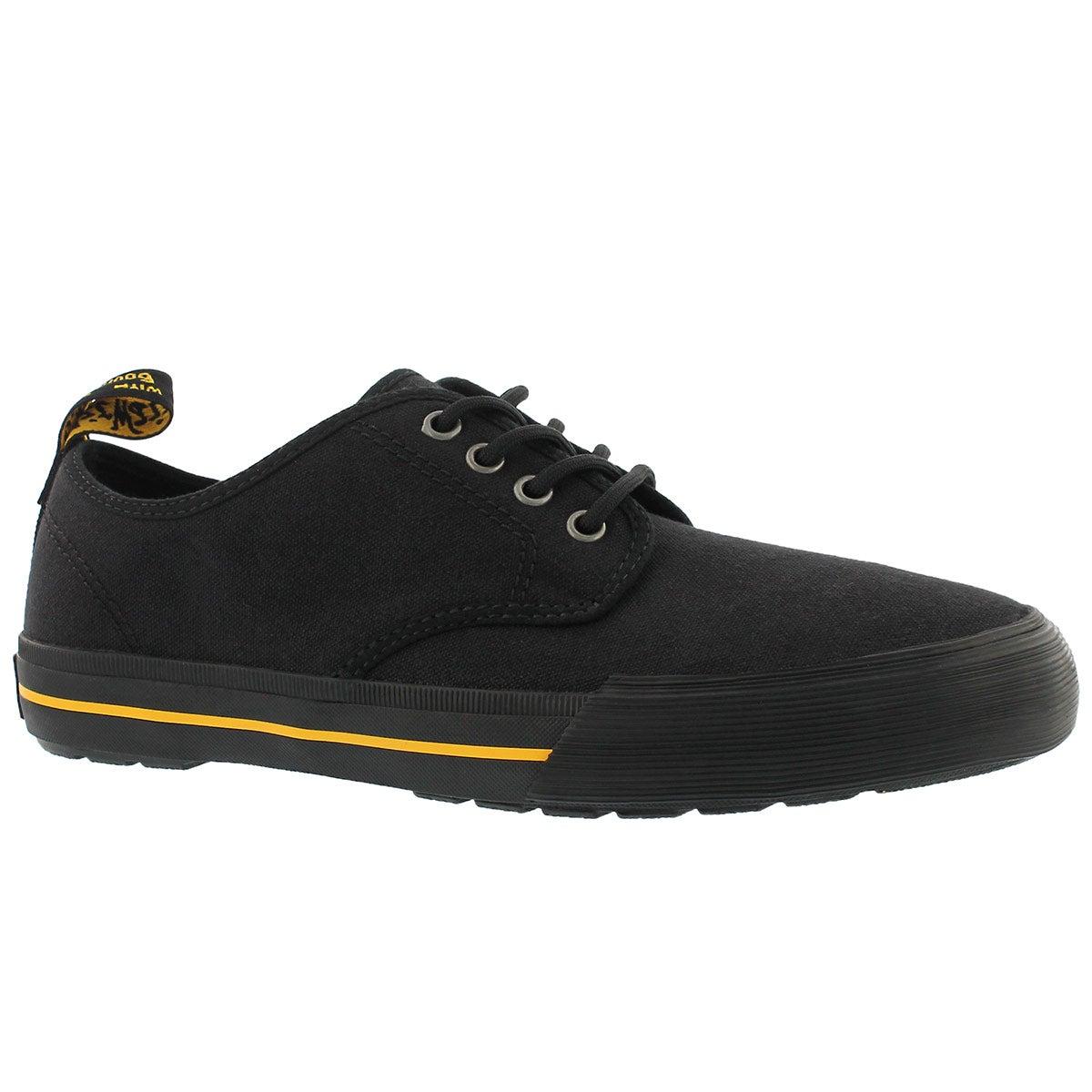 Men's PRESSLER black lace up sneakers