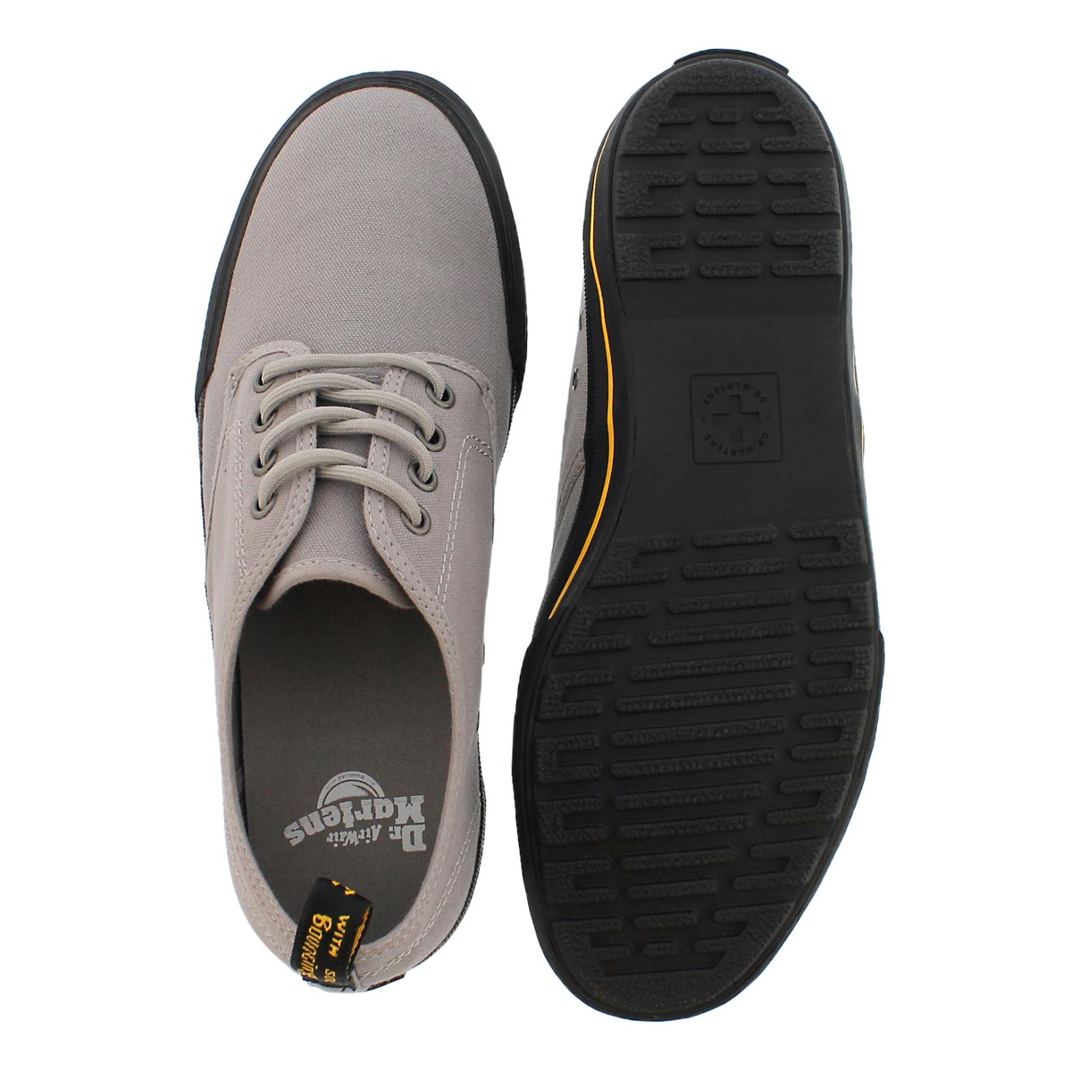 Mns Pressler mid grey lace up sneaker