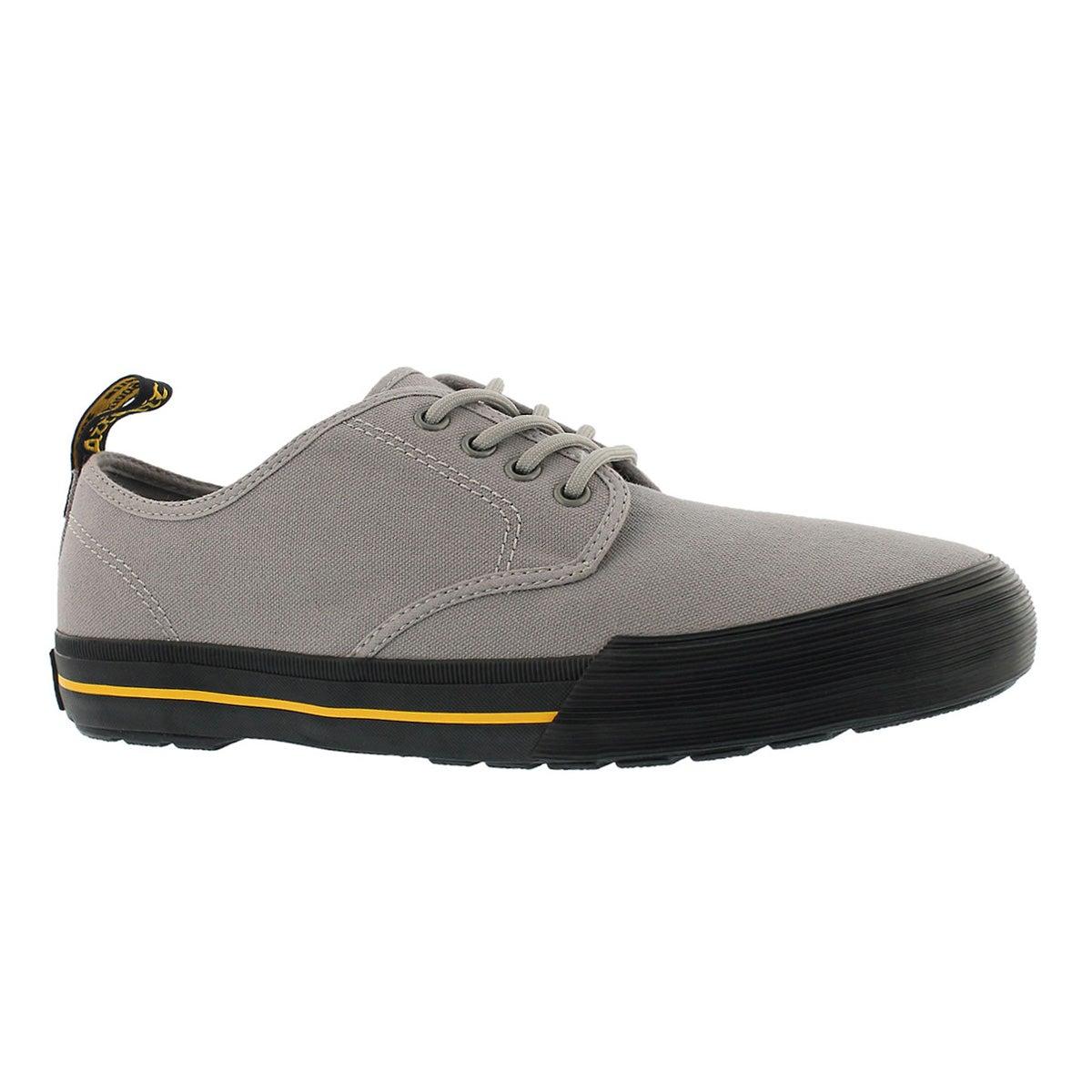 Men's PRESSLER mid grey lace up sneakers