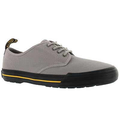 Mns Pressler mid grey lace up sneaker