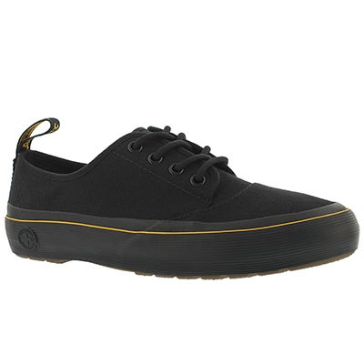 Lds Jacy black lace up sneaker