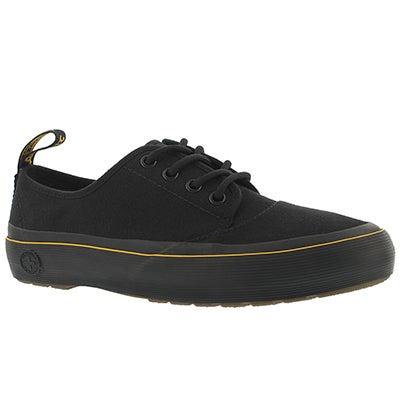 Lds Jacy black lace up sneaker