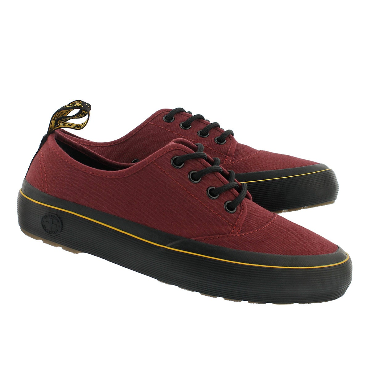 Lds Jacy cherry red lace up sneaker