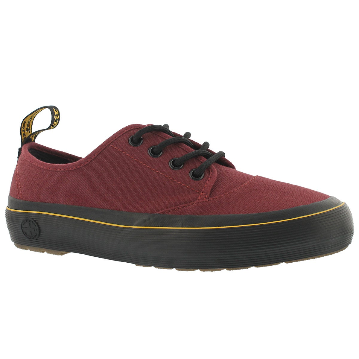 Women's JACY cherry red lace up sneakers
