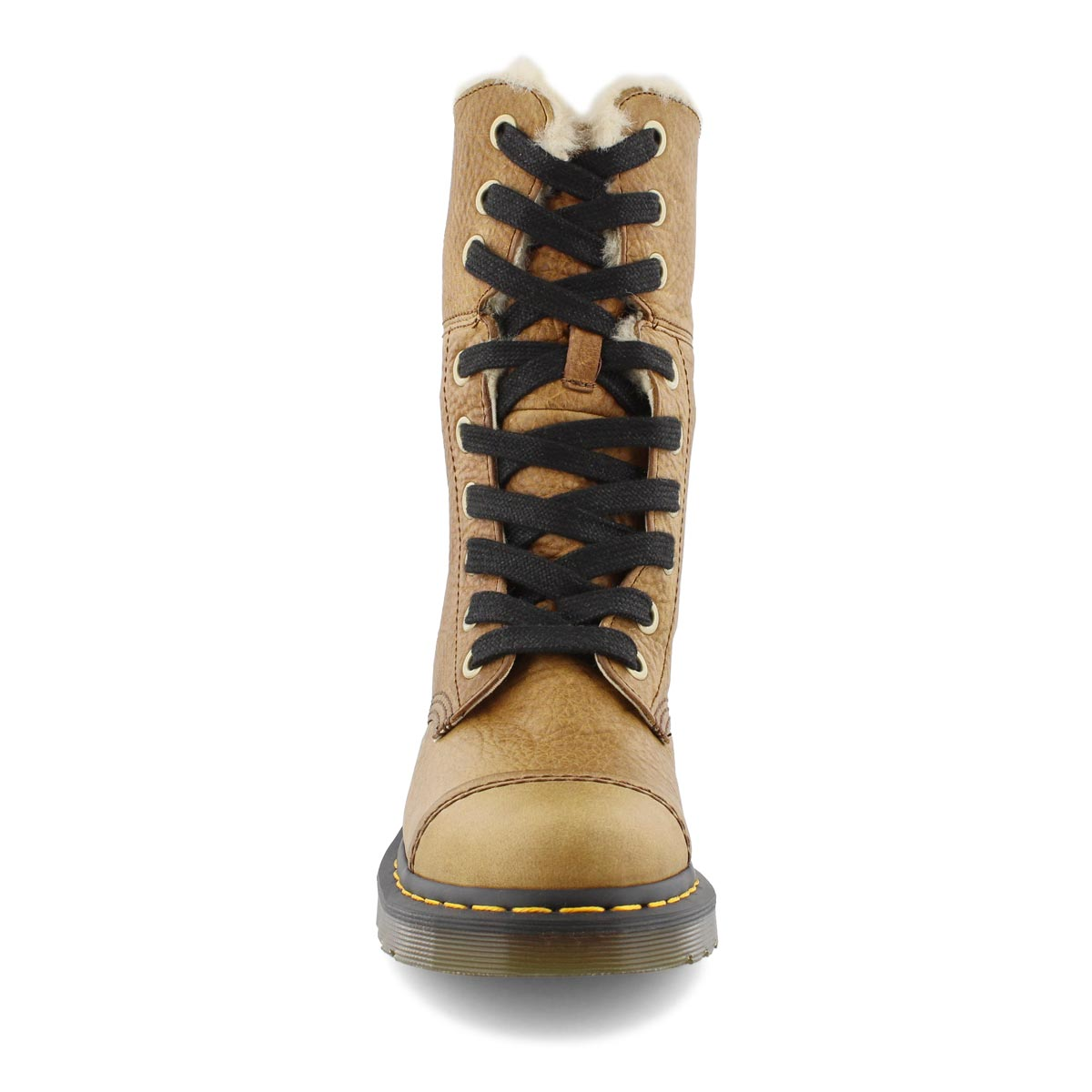 Lds Aimilita FL 9-eye tan combat boot