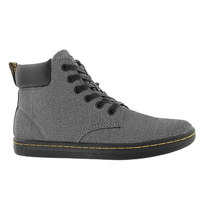 Lds Maelly 6 eye grey ankle boot